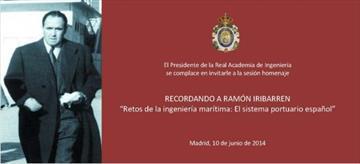 Recordando a Ramón Iribarren. Sesión homenaje