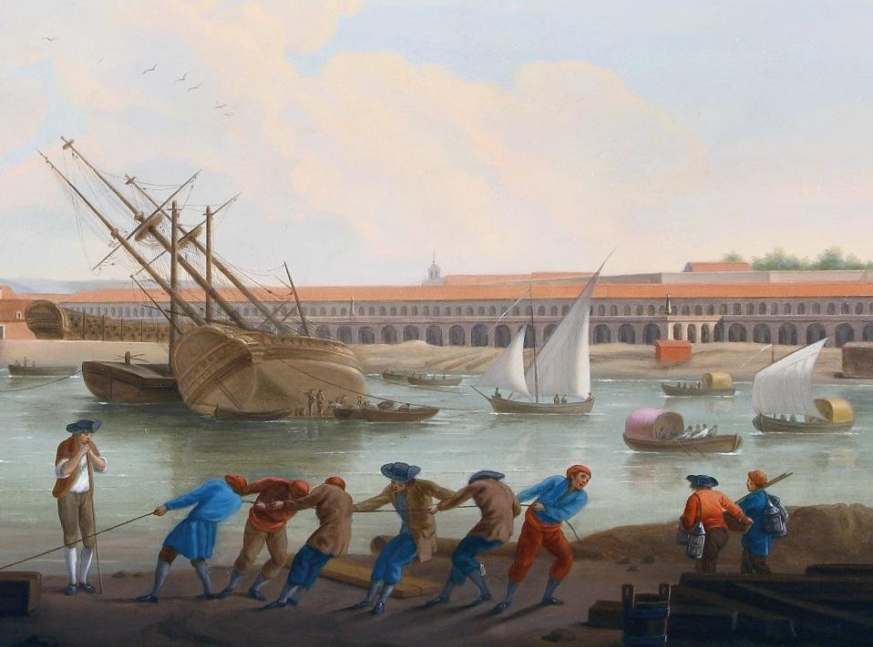 Presentation of the book entitled Una mirada ilustrada. Las vistas de puertos de Mariano Sánchez [An enlightened gaze, Spanish ports by Mariano Sánchez]