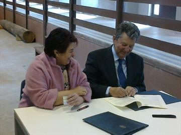 Collaboration agreement with the City of Segovia