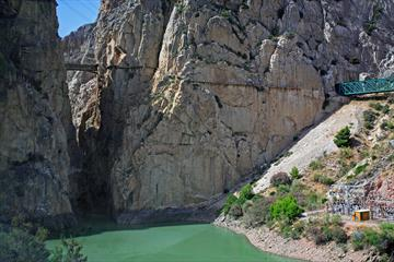 El Caminito del Rey. Un recorrido con historia [The king's narrow path, a journey into history]