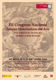 III Congreso Nacional de Jóvenes Historiadores del Arte [Young art historians' third national congress]. Call for papers