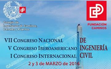 VII Congreso Nacional y V Congreso Iberoamericano de Ingeniería Civil