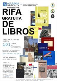 Alumnia. Rifa gratuita de libros