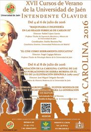 XVII Edición Cursos de Verano. Universidad de Jaén