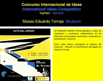 International Ideas Competition for the Torroja Museum logotype