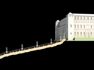 Artificio de Juanelo: Animación en 3D