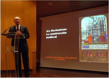Ars Mechanicae: la construcción medieval. Conferencia