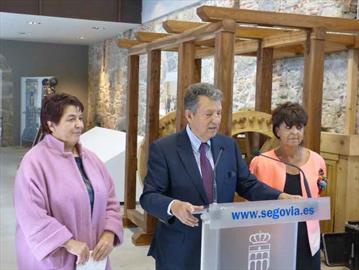 Laminador de la Casa de la Moneda de Segovia. Inauguración