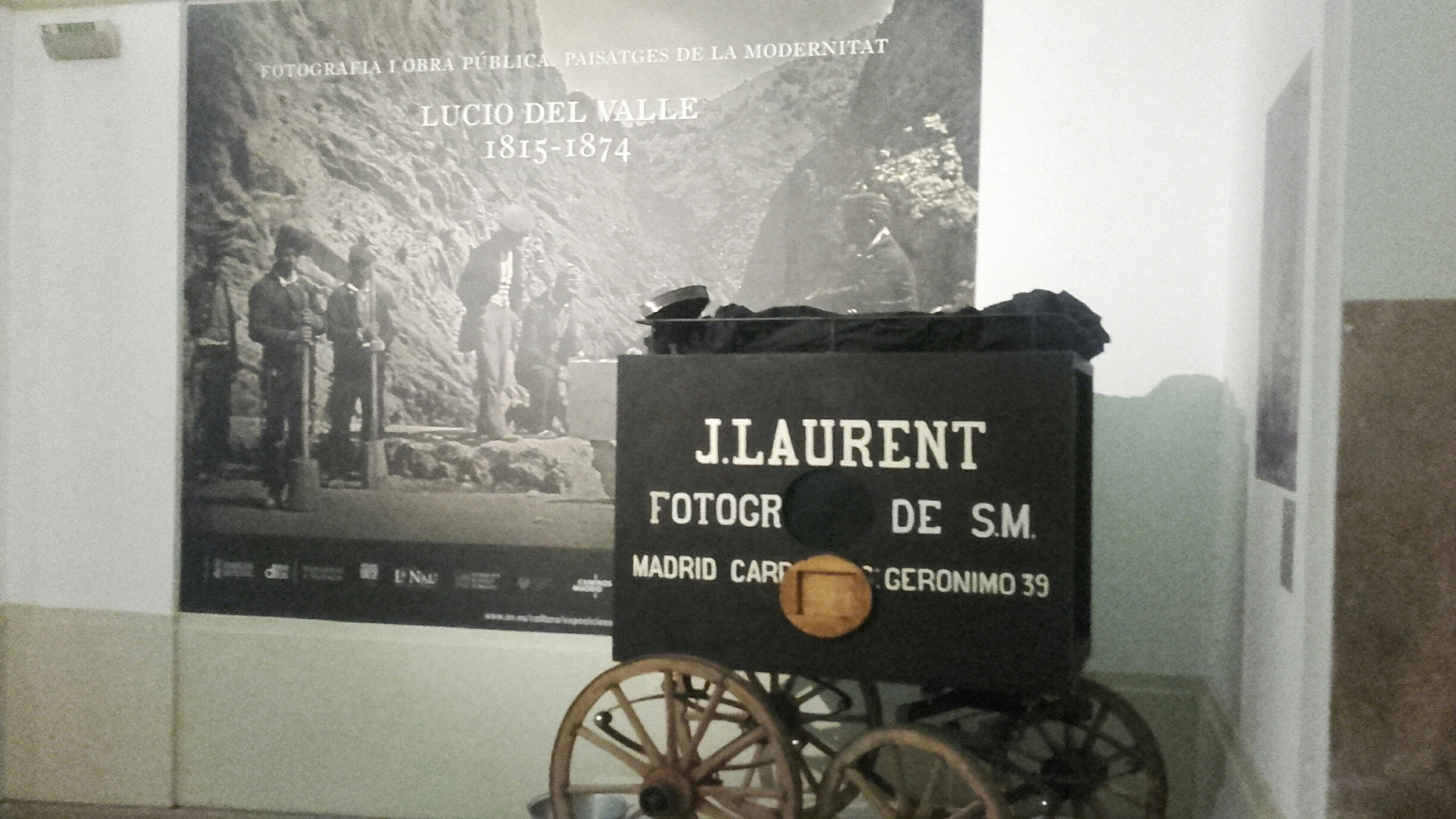 Photography and public works. Modern landscapes. Lucio del Valle. Exhibition