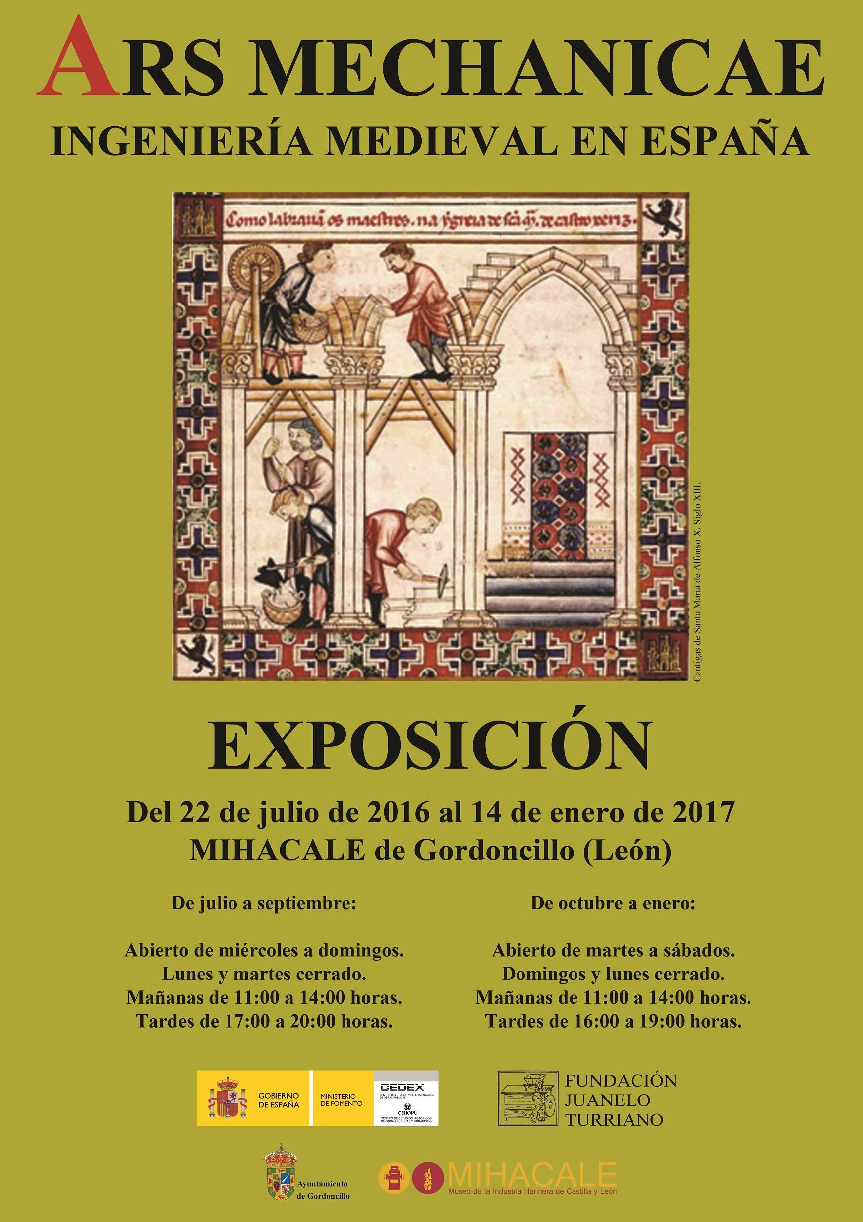 Ars Mechanicae. Exposición itinerante en MIHACALE