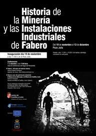 Historia de la minería y las instalaciones industriales de Fabero. Exposición