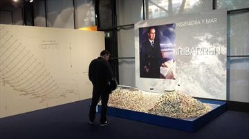 Iribarren. Ingeniería y el mar. Exposición