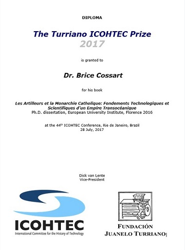 Premio Turriano-Icohtec 2017