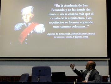 Agustín de Betancourt, ingeniero civil de la Ilustración. Conferencia