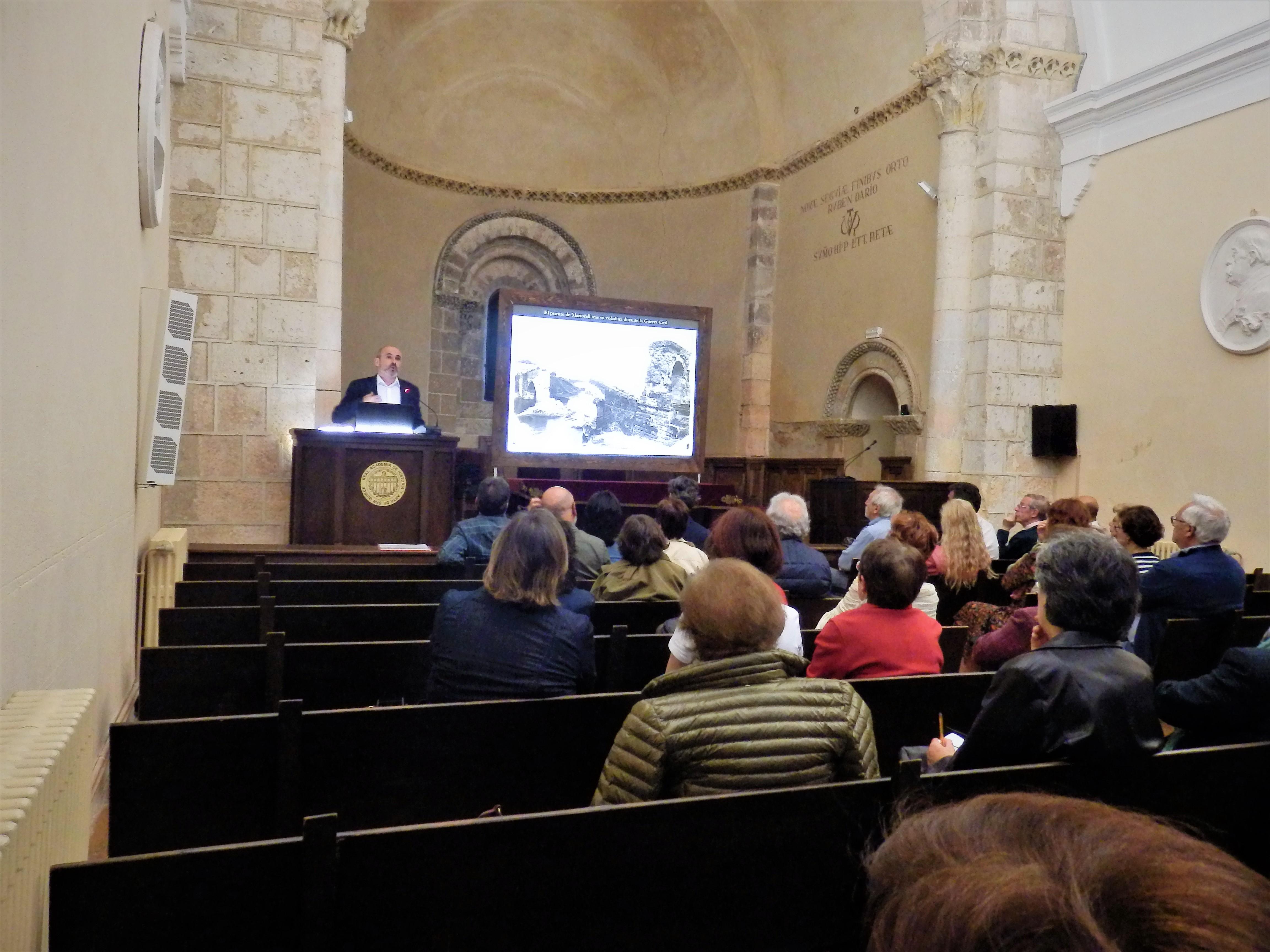 Acueducto de Segovia. Conferencia