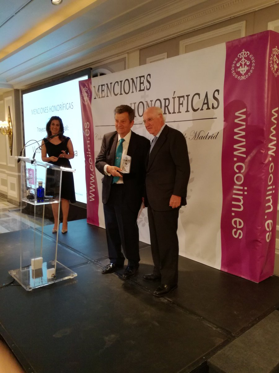 Victoriano Muñoz Cava. Honourable Mention for Career Achievement