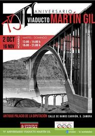 75th anniversary of the Martín Gil Viaduct