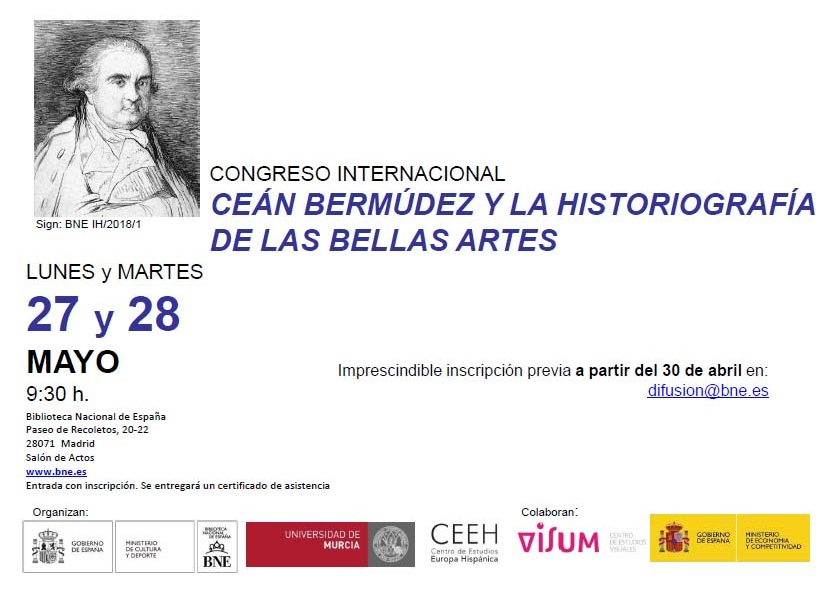 International Congress on Cean Bermúdez and the historiography of the plastic arts