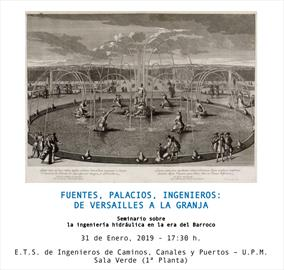 Fountains, palaces, engineers: from Versailles to La Granja