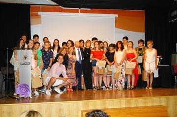 Juanelo Turriano Secondary School. Awards ceremony