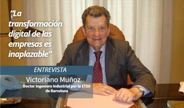 Victoriano Muñoz Cava. Entrevista