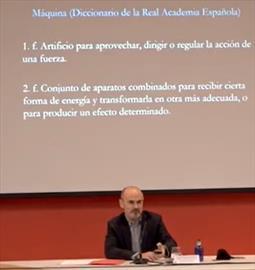 Ingenios y máquinas para Felipe II, príncipe del Renacimiento. Conferencia