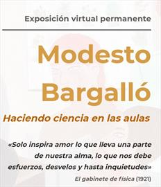 Modesto Bargalló. Exposición virtual