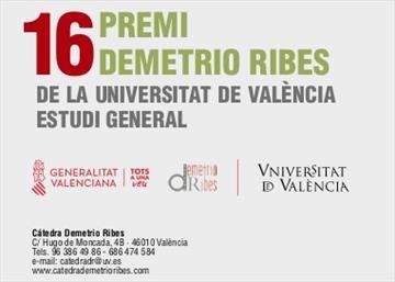 Premio Demetrio Ribes. XVI Edición