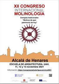 XII Congreso Internacional de Molinología. Ampliación del plazo de presentación de comunicaciones